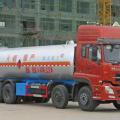 力威东风天龙前四后八液氨液化气体运输车