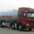 力威重汽前四后八丙烷液化气体运输车