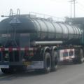中集通华化工液体运输半挂车