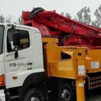 二手混凝土泵车急需转售(