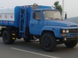 力威东风140型8方挂桶式垃圾车