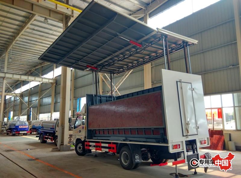 凯马45平米流动舞台车图片三