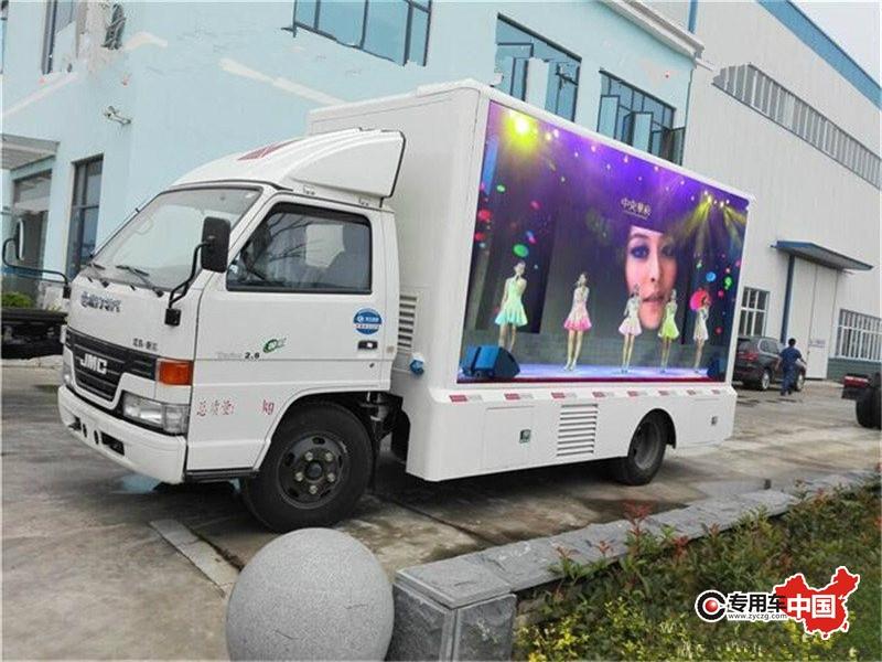 江铃LED广告车