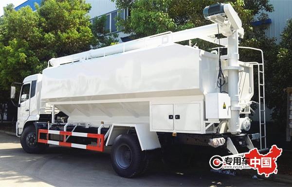 东风天锦20吨散装饲料运输车