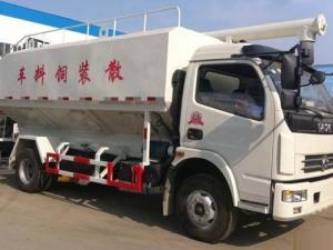 东风6吨散装饲料运输车
