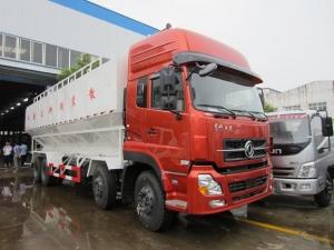 东风天龙20吨散装饲料运输车