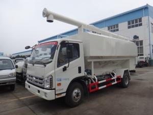 福田10吨散装饲料运输车