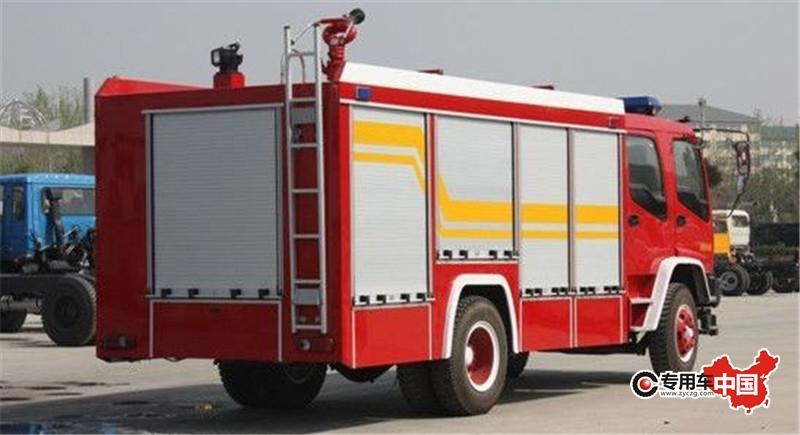 五十铃泡沫消防车