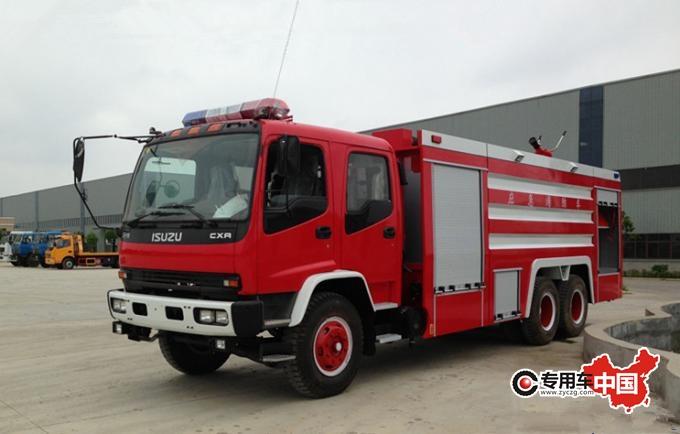 程力五十铃11吨泡沫消防车