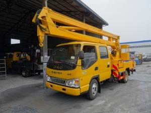 江淮14米折臂式高空作业车