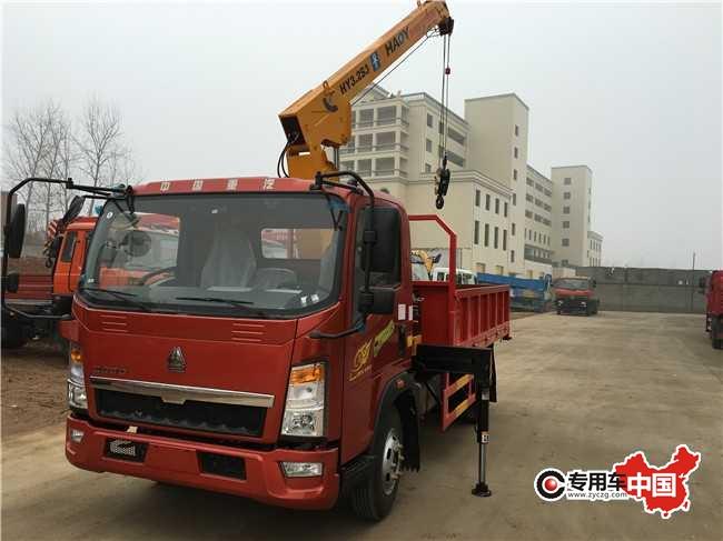 汽豪沃4吨徐工随车吊价格$18.5万-4吨徐工随车吊报价表16.5万起