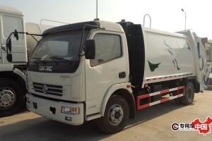 东风多利卡4方压缩式垃圾车价格¥12.8万