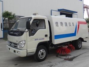 福田小型吸尘清扫车