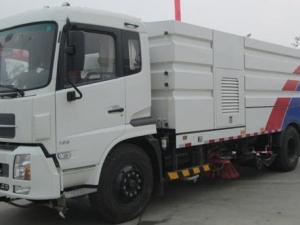 程力东风天锦8方吸尘清扫车