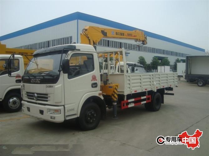东风3.2吨程力运输吊机