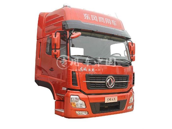 东风天龙驾驶室,珠光钼红,高顶双卧,东风天龙载货车驾驶室