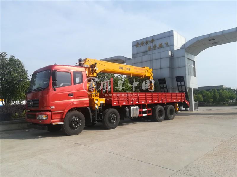 东风16吨石煤随车吊