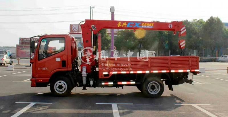 新款凯马2吨随车吊价格10.6万