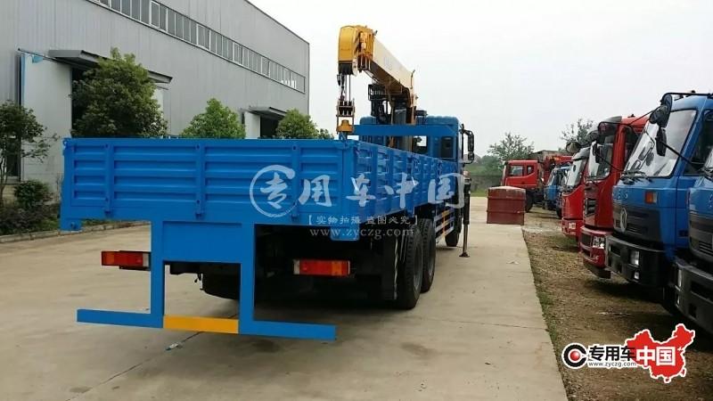 东风12吨随车起重运输车车型实拍图片3