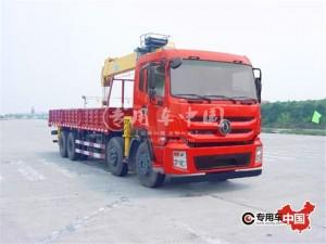 东风16吨随车起重运输车