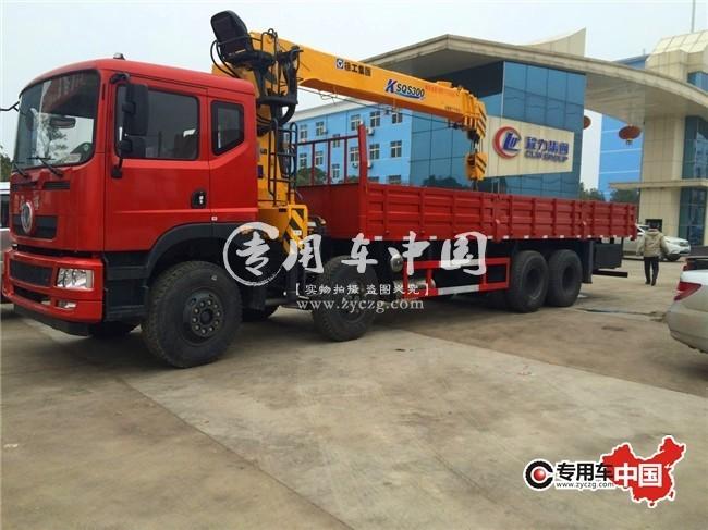 东风16吨随车起重运输车车型实拍图片2
