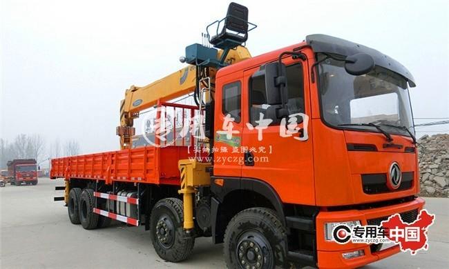 东风16吨随车起重运输车车型实拍图片5