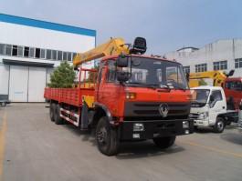 二手东风天龙12吨随车吊