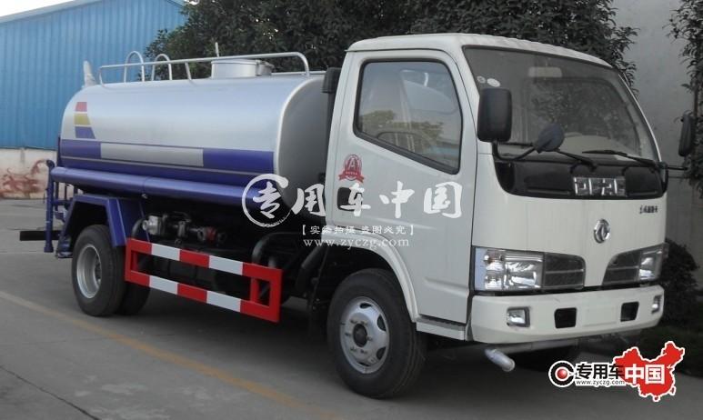 东风福瑞卡5吨环卫洒水车