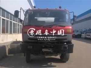 东风145型4方混凝土搅拌车