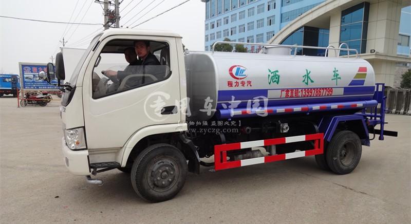 东风多功能3吨洒水车