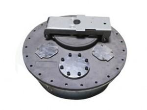 运油车欧标罐口 欧标人孔盖 560型 580型带锁罐口 油罐车配件