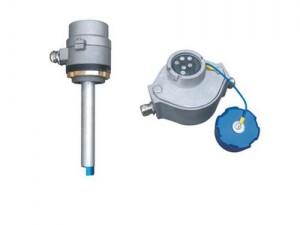 加油车防溢流插座 欧标静电插座 防溢电子传感器插座 油罐
