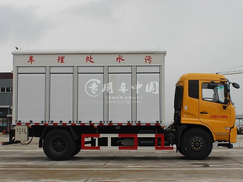 东风天锦污水处理车图片