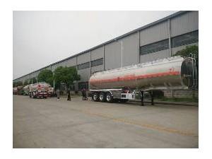 铝合金半挂运油车半挂油罐车生产厂家在哪