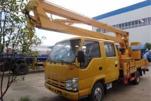 五十铃双排高空作业车12米价格¥21.88元