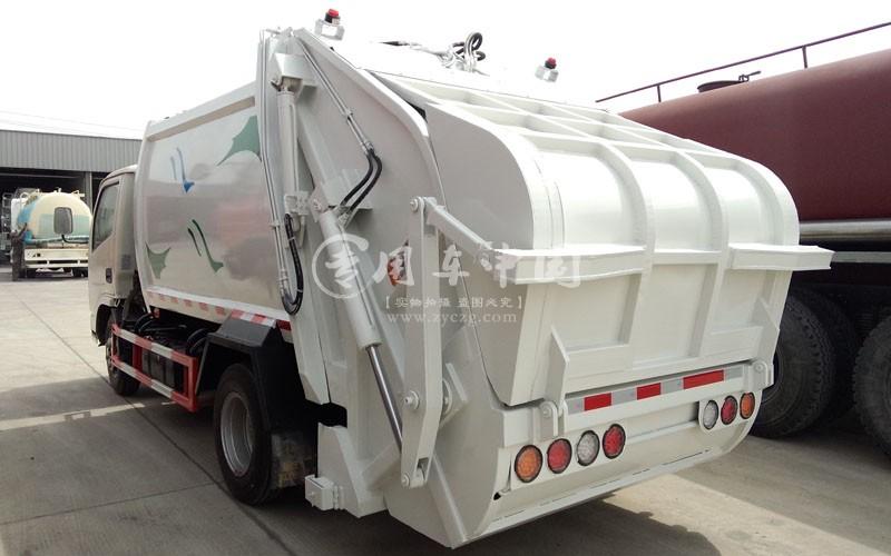 东风福瑞卡4方压缩式垃圾车