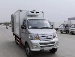二手重汽王牌3.7米小型冷藏车