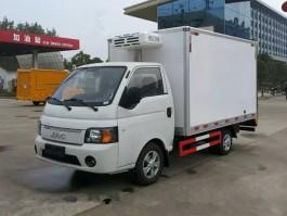 二手江淮帅铃3米小型冷藏车