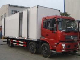二手东风天锦小三轴8.6米冷藏车