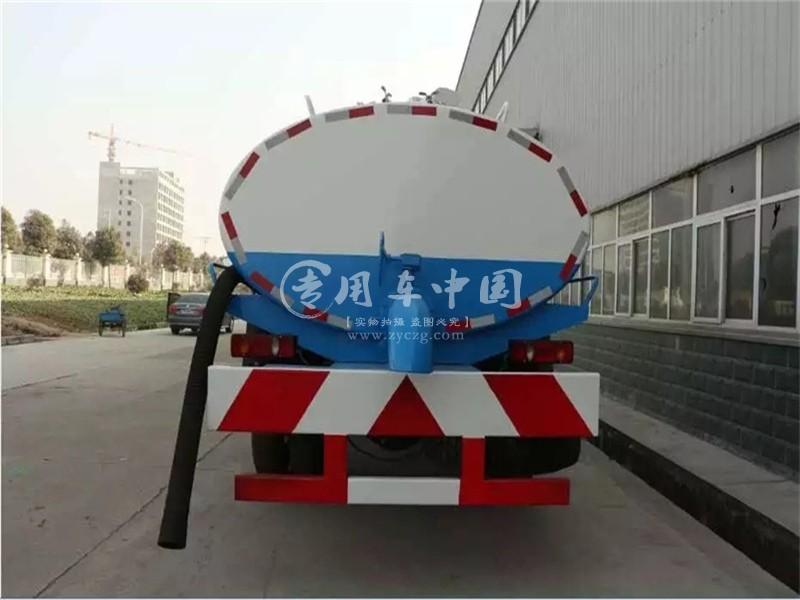 东风天锦10方吸粪车
