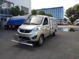 二手福田伽途人行道高压清洗车