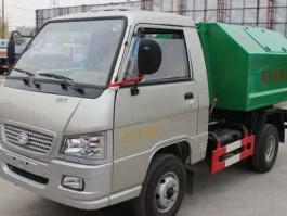 二手解放小型拉臂式垃圾车