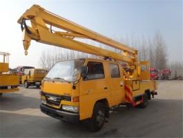 二手江铃14米折臂式高空作业车