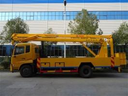 二手东风天锦22米折臂式高空作业车