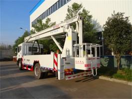 二手东风D9型22米折臂式高空作业车
