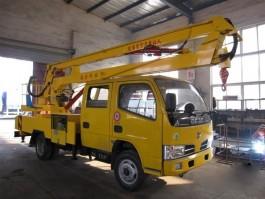 二手东风12米折臂式高空作业车