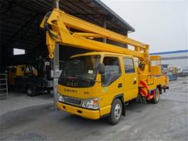 二手江淮16米折臂式高空作业车