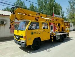 二手江铃16米曲臂式高空作业车
