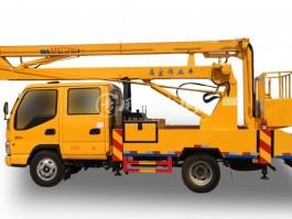 二手江铃14米曲臂式高空作业车