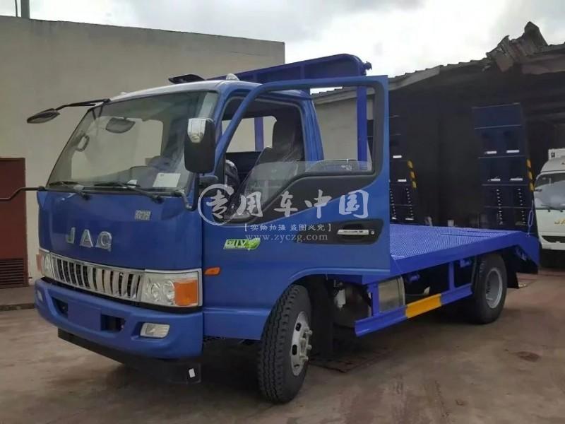 江淮骏铃平板运输车
